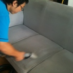 Sofa Cleaning In Action