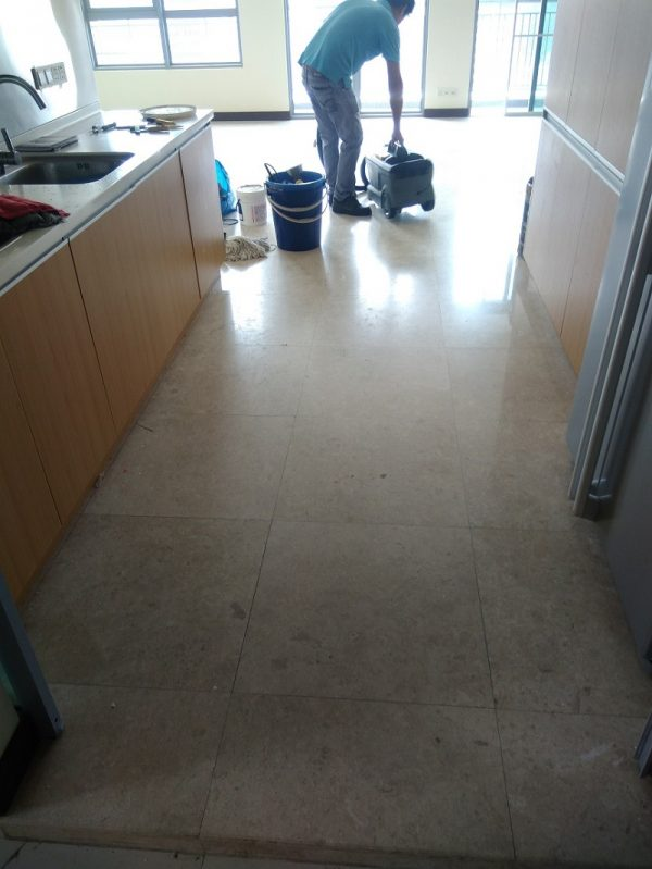Marble Polishing Before